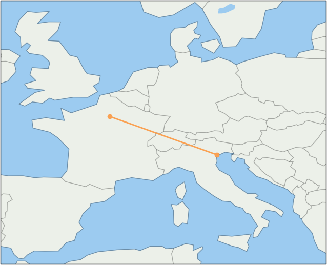 cdg-to-vce