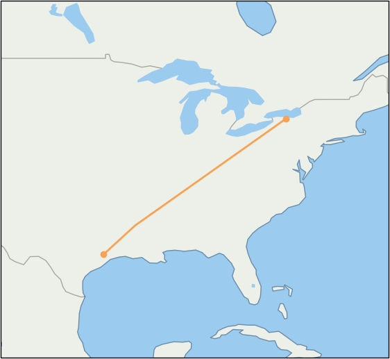 roc-to-iah