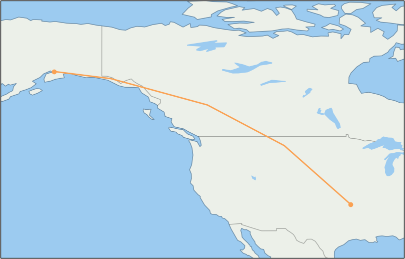AS111 Flight Status Alaska Airlines: Seattle to Anchorage