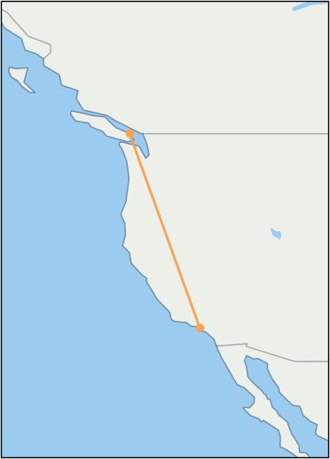 ycd-to-lax